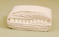 Futón de algodón de una capa de látex