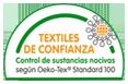 Textiles de confianza, producto testeado